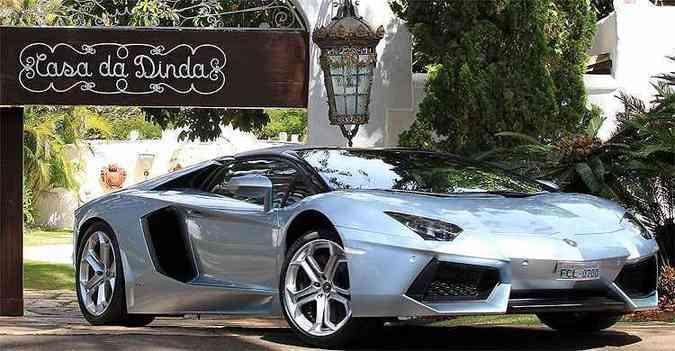 Lamborghini Aventador LP 700-4 Roadster é avaliado em R$ 3,9 milhões(foto: Cristiano Mariz/Veja)