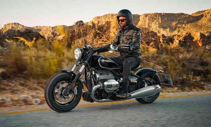 Modelo foi apresentado como moto-conceito durante o badalado Concorzo D`Eleganza Villa Deste(foto: BMW/Divulgação)