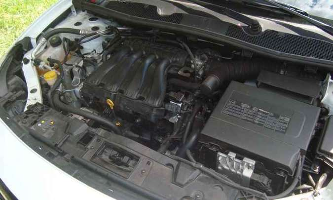 Motor 2.0 16v mantém a mesma calibração das demais versões(foto: Bruno Freitas/EM/D.A Press)