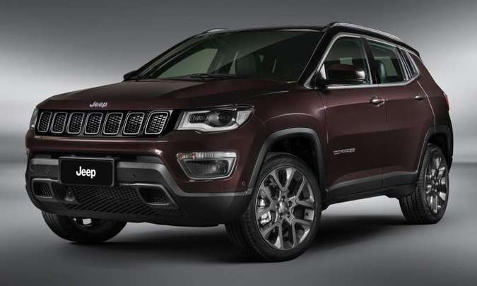 O Jeep Compass também lidera o seu segmento e será reestilizado em 2021(foto: FCA/Divulgação)
