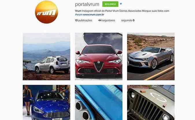 Siga a conta: instagram.com/portalvrum(foto: Reprodução/Instagram)