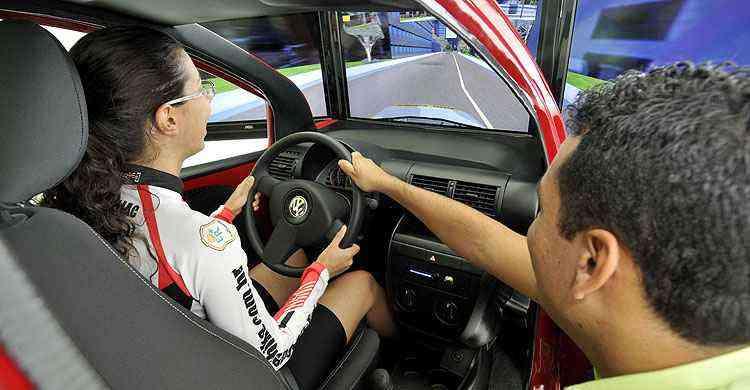 Autoescopa em Pará de Minas que já possui o equipamento desde 2014  - Juarez Rodrigues/EM/D.A Press