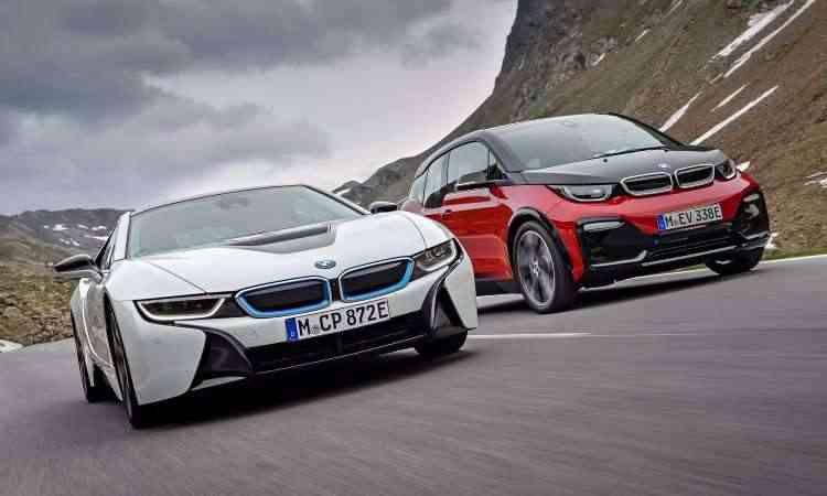 BMW i8 e BMW i3 - BMW/Divulgação