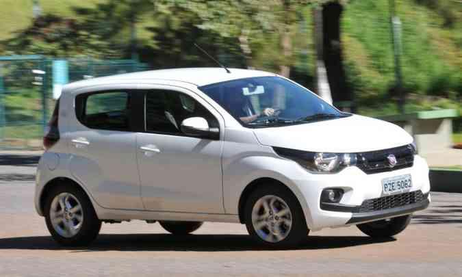Em seu segundo ano no mercado, Fiat Mobi deixou o VW up! para trás(foto: Jair Amaral/EM/D.A Press)