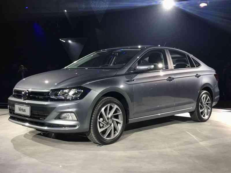 Volkswagen Virtus  - Clayton Sousa/ Vrum Brasília