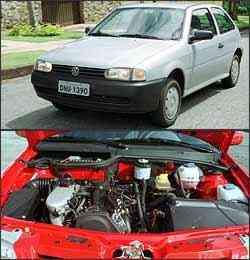 Segunda geração do modelo ficou conhecida como Bolinha, pelas formas arredondadas. Motor 1.6 apresenta vazamento de óleo na tampa de válvula -
