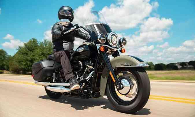 Harley-Davidson Softail Heritage Classic(foto: Harley-Davidson/Divulgação)