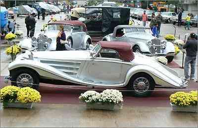 Mercedes-Benz 540K Special Roadster 1936 levou o