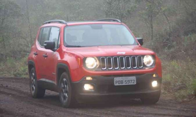 Jeep Renegade(foto: Marlos Ney Vidal/EM/D.A Press - 1/12/15)