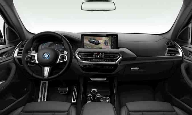 Mas se o cliente quiser, pode optar pelo acabamento interno todo em preto(foto: BMW/Divulgação)