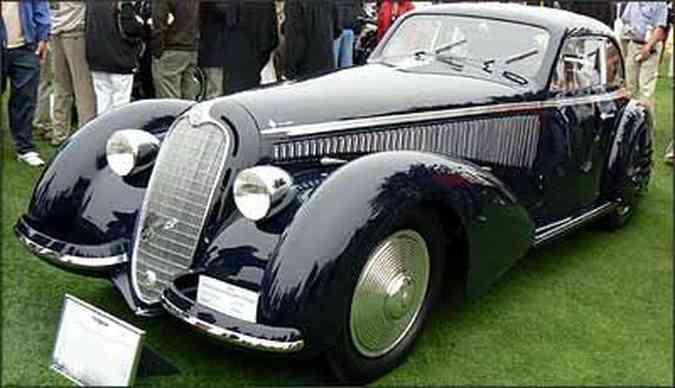 Alfa Romeo 8C 2900 B, de 1938(foto: Fotos: Boris Feldman/EM/D.A Press)