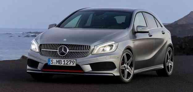 O hatch de luxo atinge velocidade máxima de 240 km/h - Mercedes/divulgação
