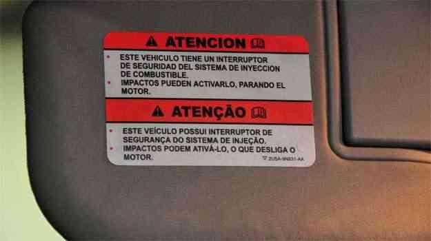 Se o carro cai em buraco ou esbarra em obstáculo pode haver corte de combustível - Marcos Vieira/EM