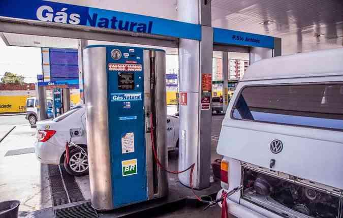 O gás natural vem se popularizando cada vez mais entre os mototristas brasileiros(foto: Copergas/Divulgacao )
