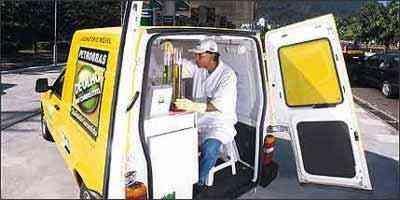 Laboratório movél verifica qualidade em postos de abastecimento - Petrobras/Divulgação