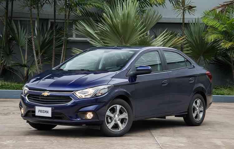 Prisma 1.0 é o modelo que representa a Chevrolet entre os populares mais econômicos do Brasil. Foto: Chevrolet / Divulgação -