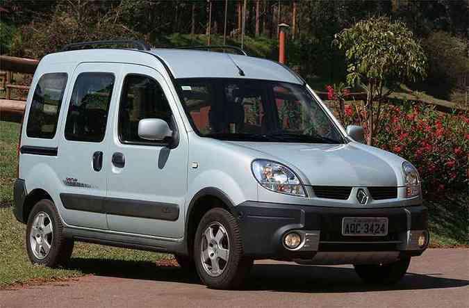 Kangoo, da Renault, não emplacou, bem como os %u201Ccolegas%u201D Citroën Berlingo e Peugeot Partner(foto: Marlos Ney Vidal/EM/D.A Press - 24/9/08)