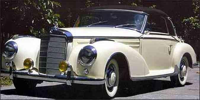 Foram feitas apenas 49 unidades do Cabriolet, que tem cotação elevada no mercado de antigos(foto: Fotos: Christie's/Divulgação)