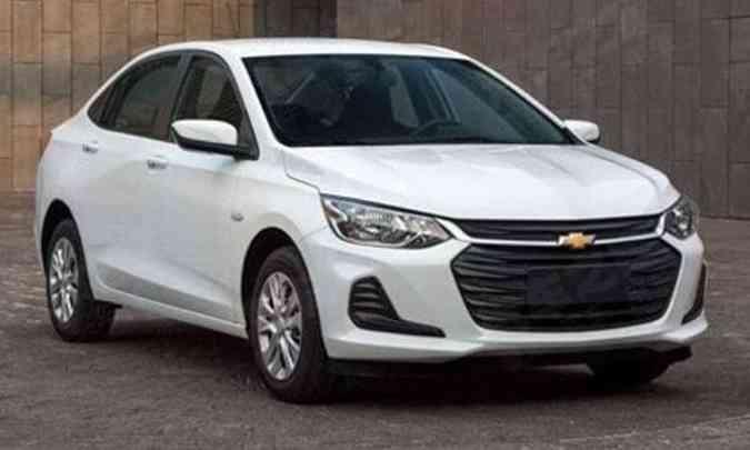 Chevrolet Prisma(foto: Chevrolet/Divulgação)