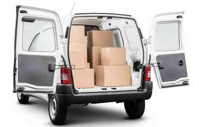 Novo Citroën Berlingo possui capacidade de carga de 800 kg e volume útil de 3 m³(foto: Citroën / Divulgação)