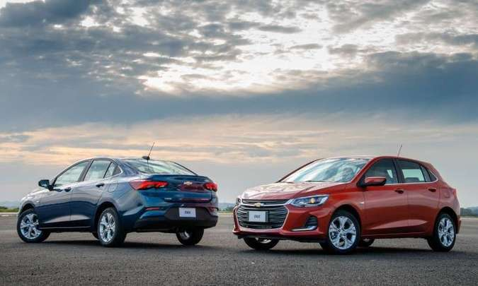 A Chevrolet lança a segunda geração do Onix, que na carroceria hatch mantém liderança disparada(foto: Chevrolet/Divulgação)