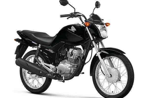 A moto tem design semelhante e a mesma base técnica da linha CG - Honda/ divulgação