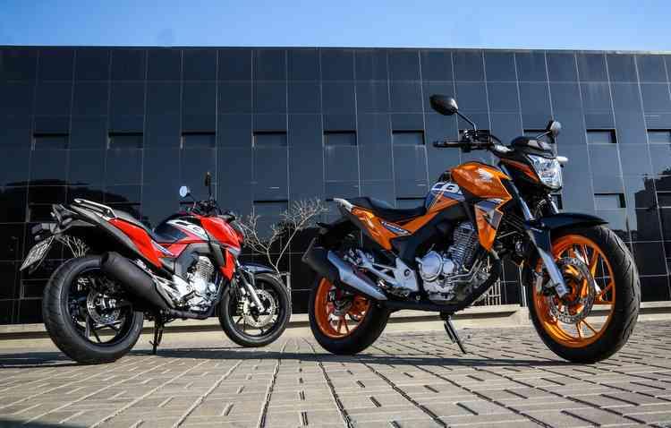 A principal novidade está na cor laranja, disponível na versão topo de linha. Foto: Honda/ Divulgação  -
