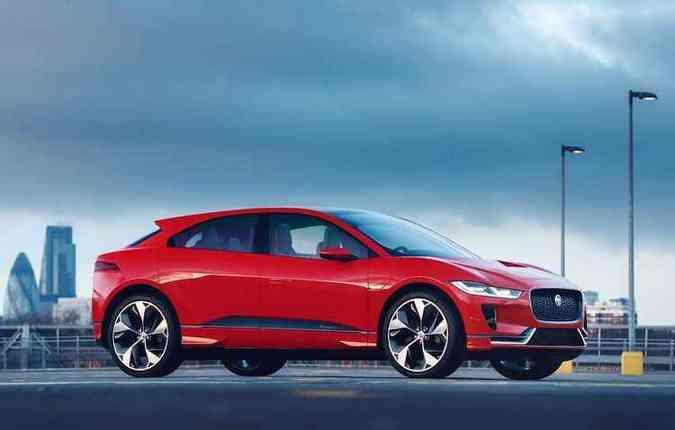 SUV elétrico ganha dois motores que produzem até 400 cavalos(foto: Jaguar/Divulgação)