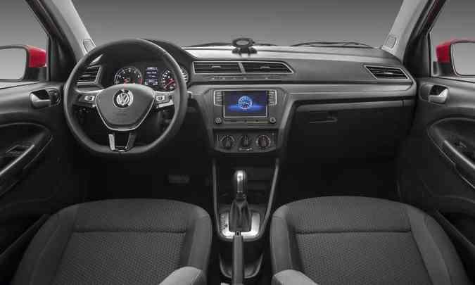 O o sistema Discover Media, com navegação integrada, é vendido por R$ 2.100(foto: Pedro Dhantas/Volkswagen/Divulgação)