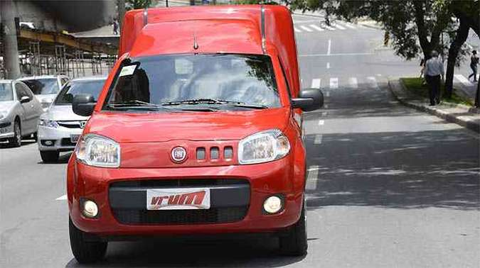 Comportamento de automóvel é destaque para o utilitário(foto: Thiago Ventura/EM/D.A PRESS)