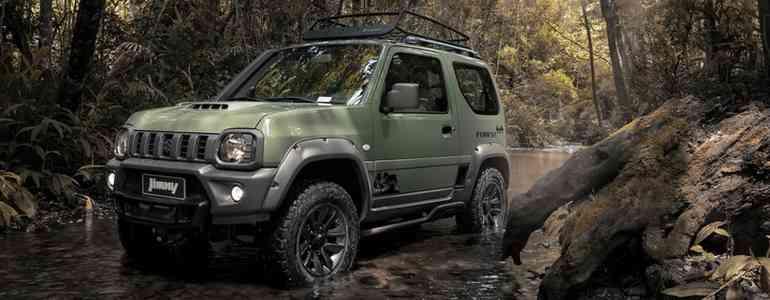 Jimny homenageia a natureza deixando mais aventureiro; o modelo tem preço sugerido de R$ 94.990 (Divulgação)