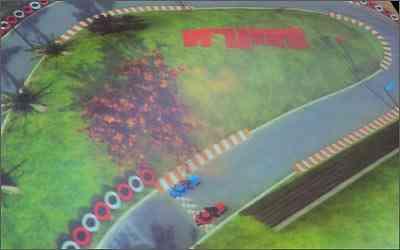 O simulador criado pela  Ilusis Interactive Graphics permite acelerar as motos ao comando da voz -