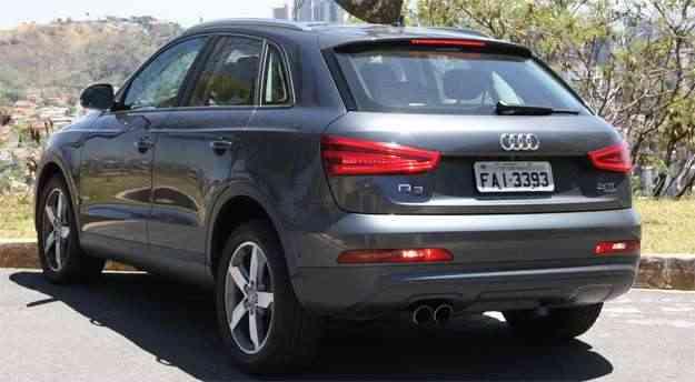 Audi Q3 2.0: Também entra na lista dos atrativos do utilitário o conjunto motor/transmissão - Marlos Ney Vidal/EM/D.A Press