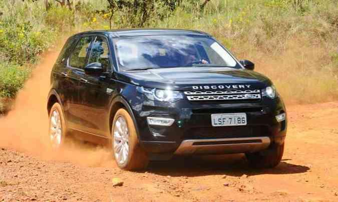 Land Rover Discovery Sport(foto: Euler Júnior/EM/D.A Press)