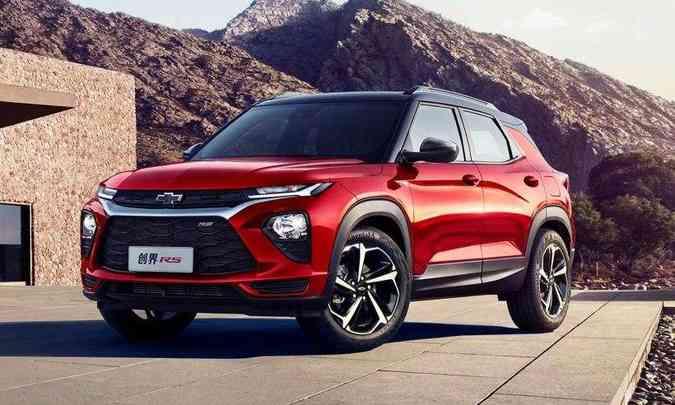 Nova Chevrolet Trailblazer vendida do mercado chinês(foto: Chevrolet/Divulgação)