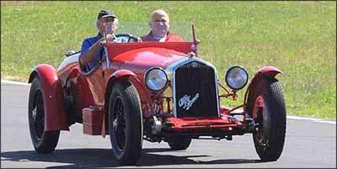 Modelo foi mito na história do automobilismo de competição, vencendo importantes provas na década de 1930(foto: Fotos: Giovani Pidello/Fiat/Divulgação - 9/7/08)