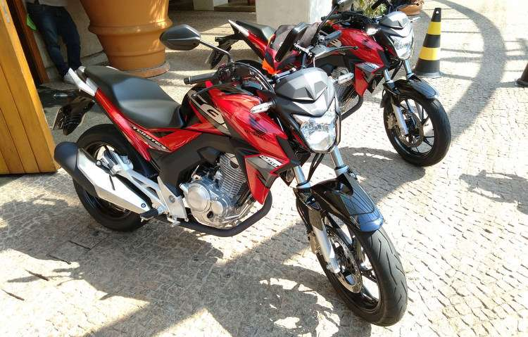 Modelo foi apresentado para a imprensa durante test ride em Campinas (SP). Foto: Débora Eloy / DP -