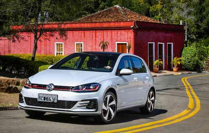 GTI se beneficia do visual sóbrio do Golf(foto: Pedro Danthas/Volkswagen/ Divulgação)