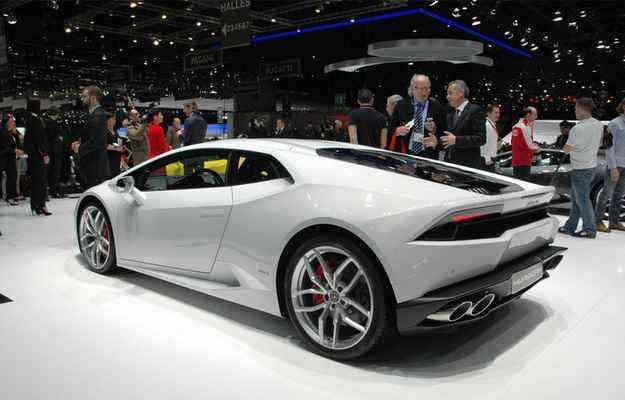 Huracán chega mais potente que o antecessor Gallardo alcançando 610 cavalos  - Geneva Motor Show/divulgação