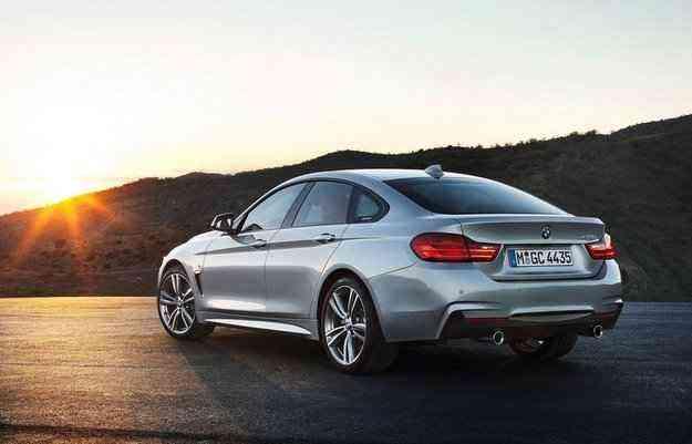 Série 4 Gran Coupé deve chegar aos Estados Unidos ainda este ano - BMW/divulgação