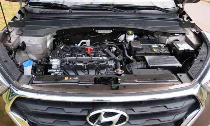 Motor 2.0 flex tem bom torque em baixas rotações, garantindo bom desempenho ao SUV(foto: Gladyston Rodrigues/EM/D.A Press)