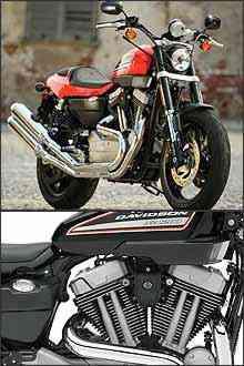 Visual foi inspirado na famosa XR 750 de competição. Potência do motor não foi revelada, mas deve ficar entre 85 cv e 90 cv -