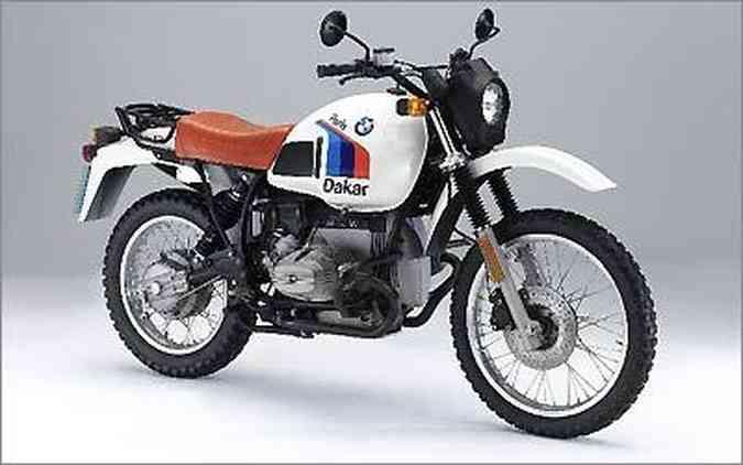 A linhagem começou em 1980 com a R 80 GS, com motor de 800 cm³, que venceu o Paris-Dakar no ano seguinte
