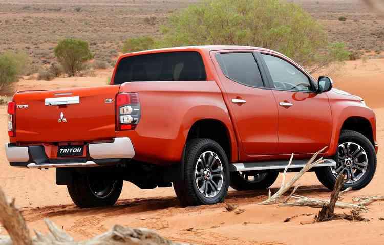 Se confirmada para o Brasil, picape irá competir com Ranger, Frontier e outras médias. Foto: Mitsubishi / Divulgação -