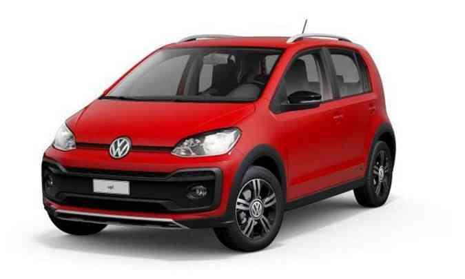 O VW up! estava sendo vendido apenas na versão XTreme 1.0 TSI, por R$ 60.090(foto: Volkswagen/Divulgação)