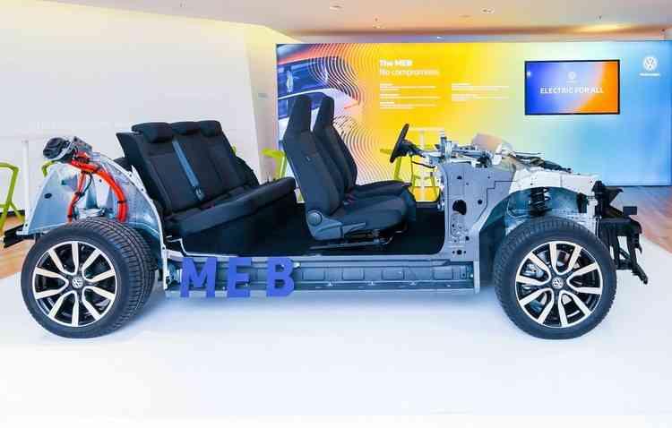 MEB deverá ser usada em 10 milhões de elétricos. Foto: Volkswagen/Divulgação - Volkswagen/Divulgação