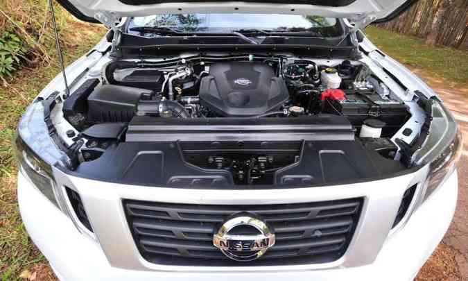 O motor 2.3 litros turbodiesel proporciona desempenho satisfatório(foto: Gladyston Rodrigues/EM/D.A Press)