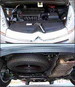 Motor 2.0 tem 143 cv de potência. Posição ruim do estepe sob porta-malas -