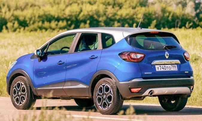 A traseira do SUV compacto deve trazer poucas alterações de estilo(foto: Renault/Divulgação)