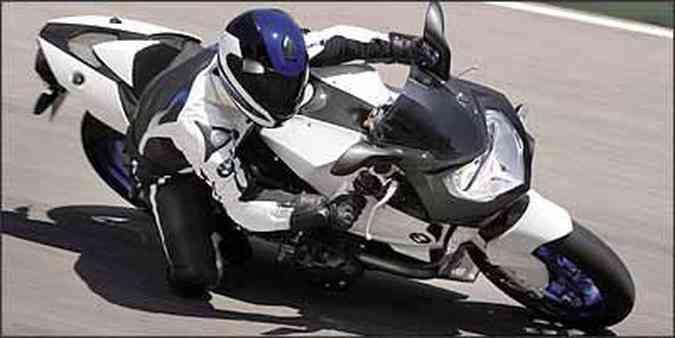 Modelo pode inclinar e até raspar o cabeçote(foto: Fotos: BMW/Divulgação)